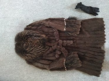 Шуба,кролик,размер 50 -52 ,б/у.Длина ниже в Бишкек