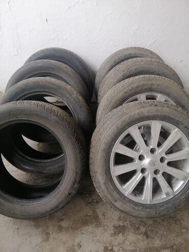 шины и диски в Кыргызстан: Шины зима с дисками 275/55/20 и лета 285/55/20 в отличном состояние