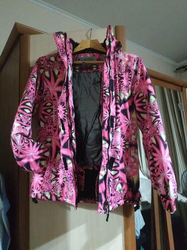 пальто женское зимнее бишкек в Кыргызстан: Продам женский горнолыжный костюм б/у фирма columbia размер м 46