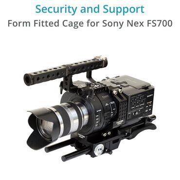 Шпионская видеокамера - Кыргызстан: Продаю видеокамеру sony fs-700. Состояние ближе к идеальной. В компле