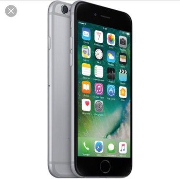 продам iphone 6 space gray 16 gb( не работает тач айди) по корпусу иде в Лебединовка