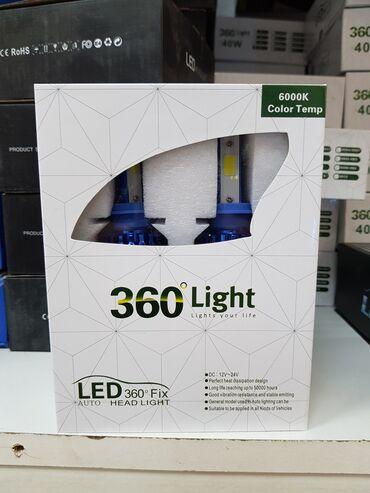 H4 LED COB sijalice 40W sa hlađenjemLED COB sijalice za farove NOVE