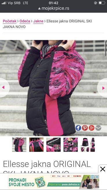 Ellesse original zimska,sky jakna,nova potpuno,nikad nosena.  Veoma kv