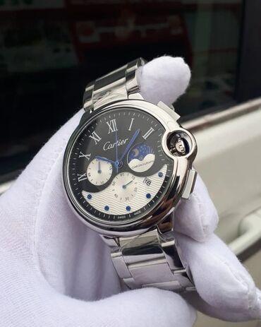 серьги синего цвета в Азербайджан: Белые Мужские Наручные часы Cartier
