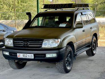 двигатель тойота авенсис 1 8 vvt i бишкек в Кыргызстан: Toyota Land Cruiser 4.7 л. 2001   350000 км