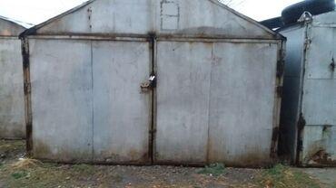 Гаражи - Кыргызстан: Продаю железный гараж. Жал 15 .В среднем состоянии.Длина 6м.ширина3м