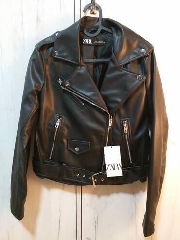 Zara jakna od vestacke koze Velicina M Sa etiketom Ne radim razmene