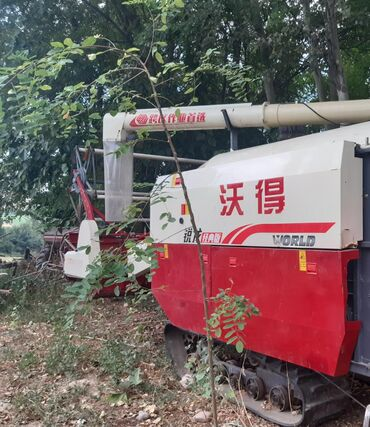 Грузовой и с/х транспорт в Базар-Коргон: Комбайын ворлд 2018