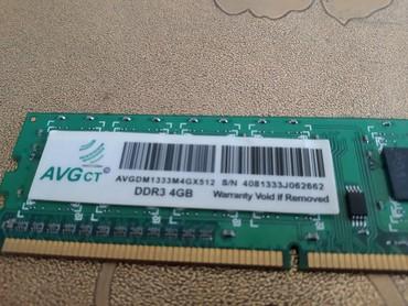 amd 4 gb - Azərbaycan: DDR 3 RAM 4 Gb 1333-12800 ilə dəyişirəm