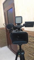 Видеокамера - Кыргызстан: Срочно!!Продаю профф камера.НКС.Sony HVR-Z7E.Форматы записи:576i
