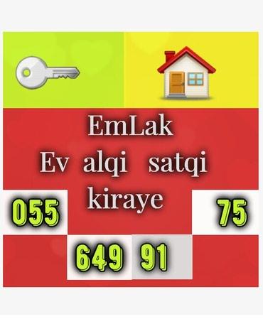 Emlak ev alqi satqi kiraye 530 azn icareye arendaya obyekt satdiq в Bakı