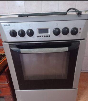 Продаю газовую плиту Веко отлично работает духовка электрическая гриль