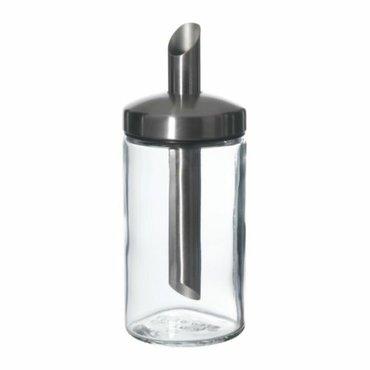Дозатор сахара ДОЛЬД ikea,  прозрачное стекло, нержавеющая сталь. Разм в Бишкек