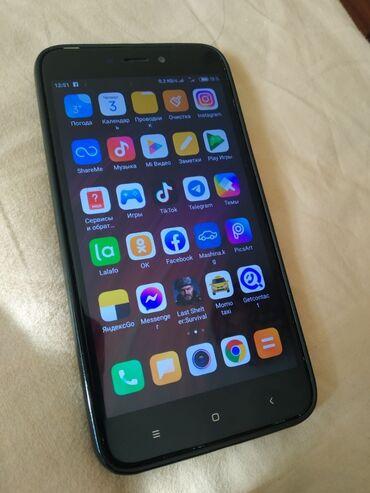 продам пуделя в Кыргызстан: Б/у Xiaomi Redmi 4X 32 ГБ Черный
