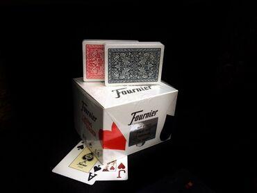 Игральные карты пластиковые Fournier 2818 производятся ведущим испанск