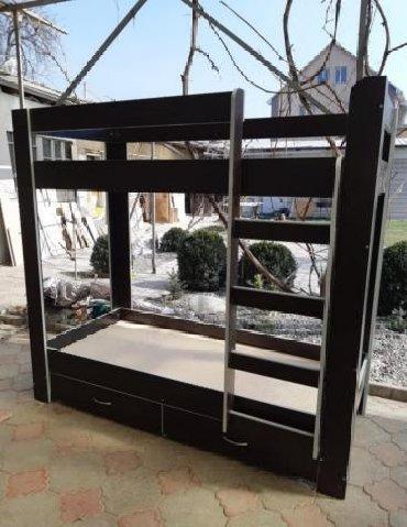 двухъярусные кровати бу в Кыргызстан: Двухярусная кроватьНовая двухярусная кровать с ящиками ВСЕГО за