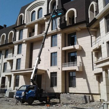 автовышка бишкек in Кыргызстан | ГРУЗОВЫЕ ПЕРЕВОЗКИ: Автовышка | Стрела 18 м. 300 т | Борт 300 кг