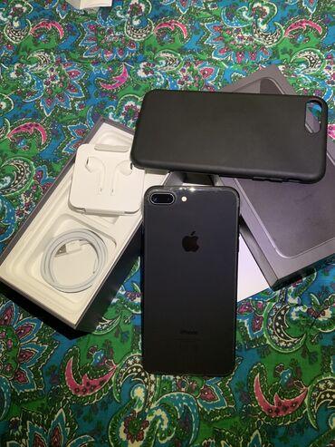 iphone 7 plus цена бу в Кыргызстан: Б/У iPhone 8 Plus 64 ГБ Черный