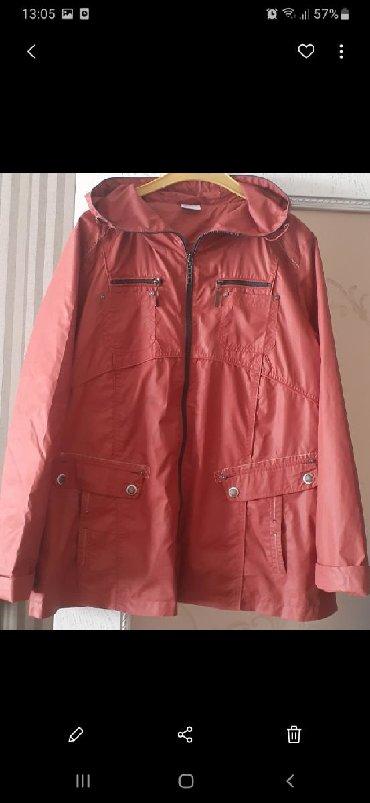 женские ветровки с капюшоном в Азербайджан: 2 куртки ветровка и теплая. Размер 50 и 46-48