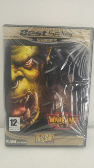 WARCRAFT 3: REIGN OF CHAOS-SEALED BATTLENET KEY INCLUDED