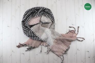 Жіночий шарф у клітинку з бахромою Sinsay   Довжина: ≈218 см Ширина: 5