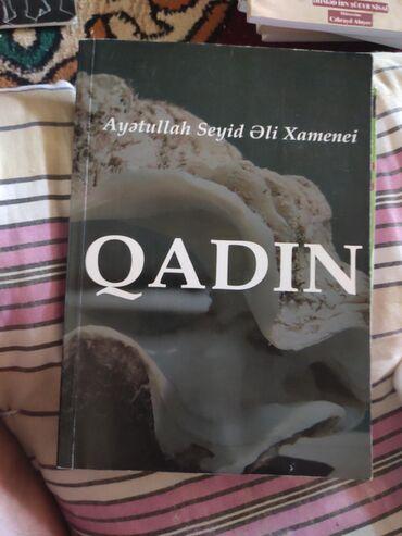 Kitab, jurnal, CD, DVD Lənkəranda: Kitabın adı Qadın lənkarandadır