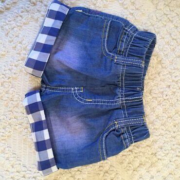 Dečija odeća i obuća - Pirot: Nov dečji šorc od tankog teksasa, veličina 4
