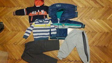 Paket odeće - Sivac: Paket za dečake vel2-3 god