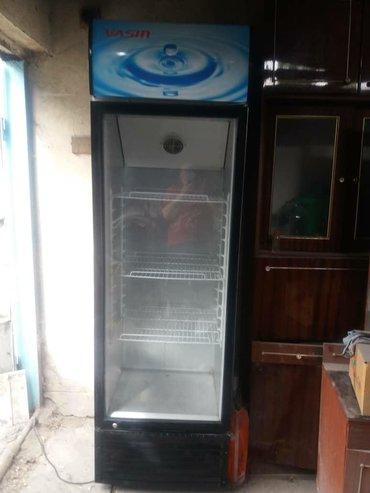 stolovye-pribory-bez-nozha в Кыргызстан: Б/у Холодильник-витрина Синий холодильник