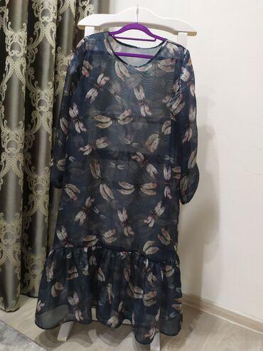 Платье органза, размер от 44-46 свободное. Есть платье майка