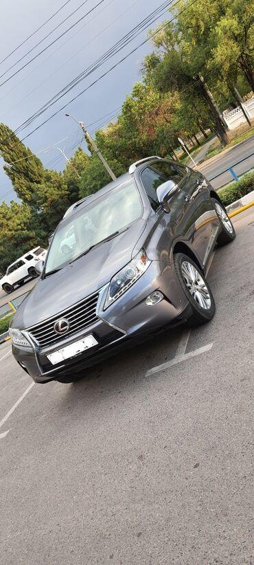 Lexus в Кыргызстан: Lexus RX 3.5 л. 2012   111000 км