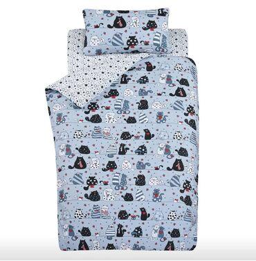 джемпер наволочка спицами в Кыргызстан: Комплект постельного белья.Полуторка. Ткань 100% хлопок.Производство