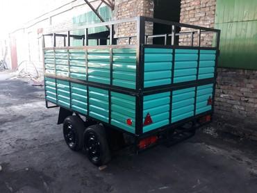 Прицепы - Кыргызстан: Прицепы на заказ с документами и без, длина2. 2.5 3. 4. метра Ширин