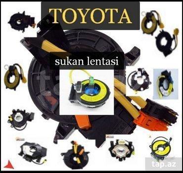Bakı şəhərində Toyota .sukan lenti.  tayota avtomobilleri icin sukan lentleri