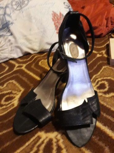 Kozne elegantne sandale obuvene par puta br 39 - Pozarevac