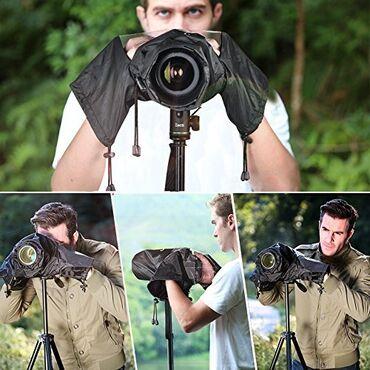 Дождевой чехол для фотоаппарата. Защитит вашу камеру при плохой