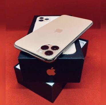 айфон 11 цена в оше in Кыргызстан | APPLE IPHONE: IPhone 11 Pro Max | 256 ГБ | Золотой Б/У | Отпечаток пальца, Face ID, С документами