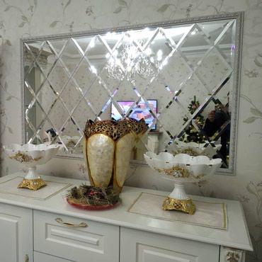 Зеркало ромбики на заказ в Бишкек