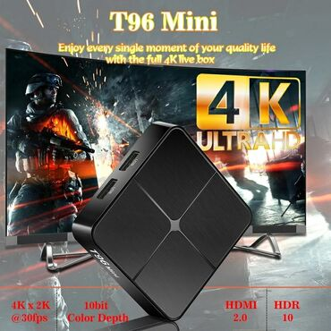 android tv box - Azərbaycan: Tv box t96 mini android smart tv box ip original t96 mini android