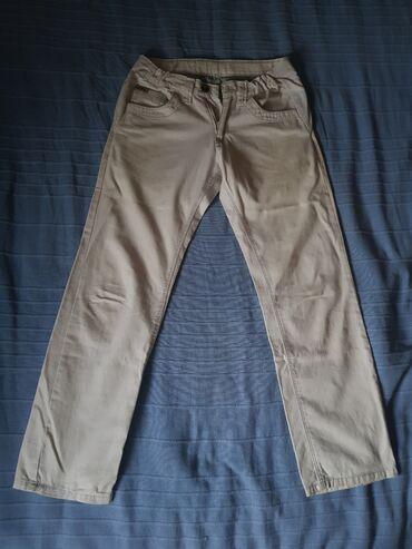 NOVO bele pamučne pantalone brenda Stig (be stig effective) br. 12