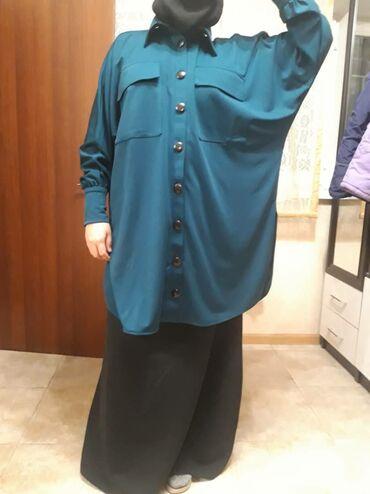 Двойка хиджаб свободного кроя. Цена 1700 сом. Ткань трикотаж. Качество