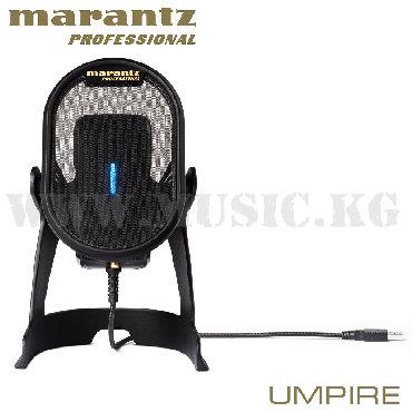 акустические системы marantz в Кыргызстан: Микрофон Marantz UmpireНастольный конденсаторный USB микрофон Umpire