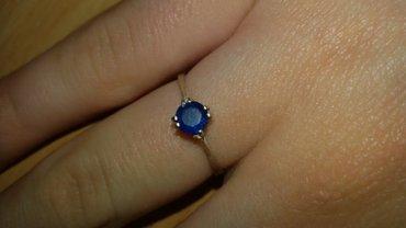 Prelepi srebrni prsten precnik 16. - Kraljevo