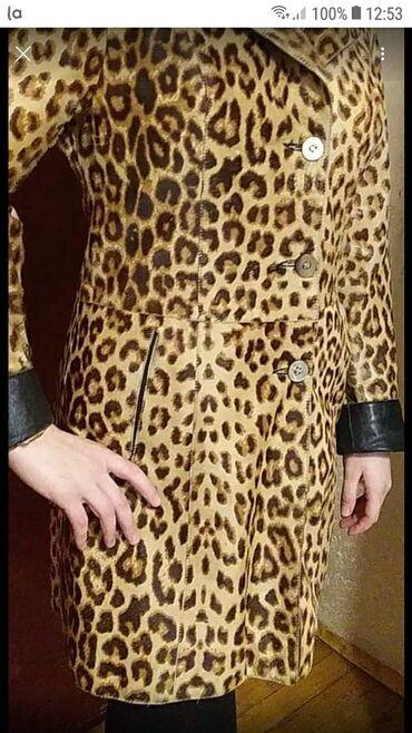 """klyoş qadın ətəkləri - Azərbaycan: """"Leopard"""" qadın üçün dəri palto. Türkiyədə Deri Sarayda baha alınıb. Y"""