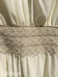Bela-haljina-sa-cipkom - Srbija: Svecana haljina sa cipkom jednom obucena