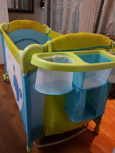 Baby bed and play zone.with mattress в Бишкек