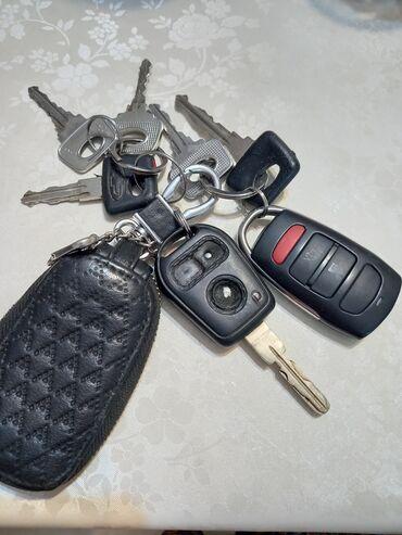 Находки, отдам даром - Ала-Тоо: Нашли связки ключей в машине Мерса районе села Манас под утро 5 часо