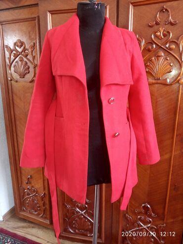 Женская одежда - Кашка-Суу: Разгружаю гардероб!!!Пальто.Красный-650Бежевый-550Серый-600В отличном