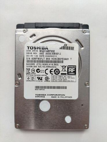 внешний жесткий диск 320 gb в Кыргызстан: Продам жесткий диск HDD Toshiba 320 gb