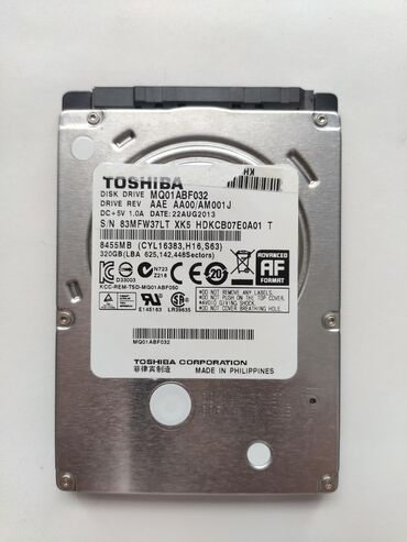 жесткий в Кыргызстан: Продам жесткий диск HDD Toshiba 320 gb